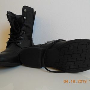 American Rag Shoes - AMERICAN RAG LACE FRONT/ZIP SIDE BOOT--NWOT